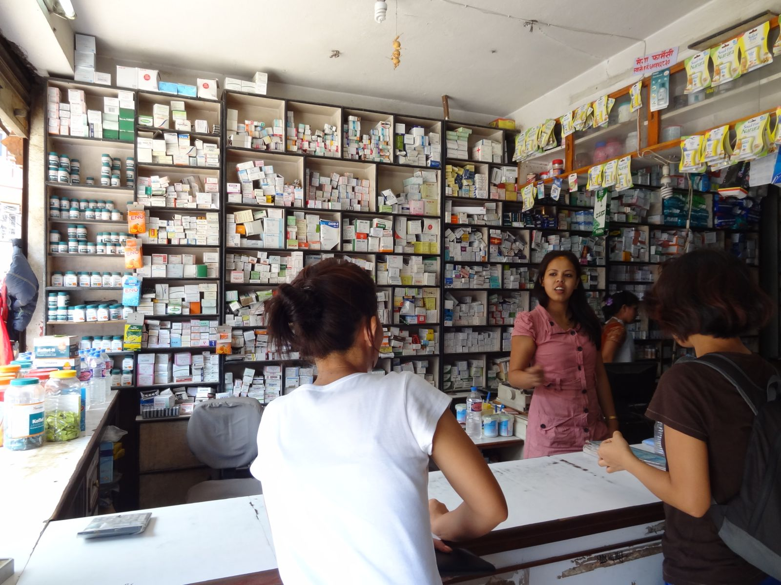 Pharmacy in Boudha, Nepal