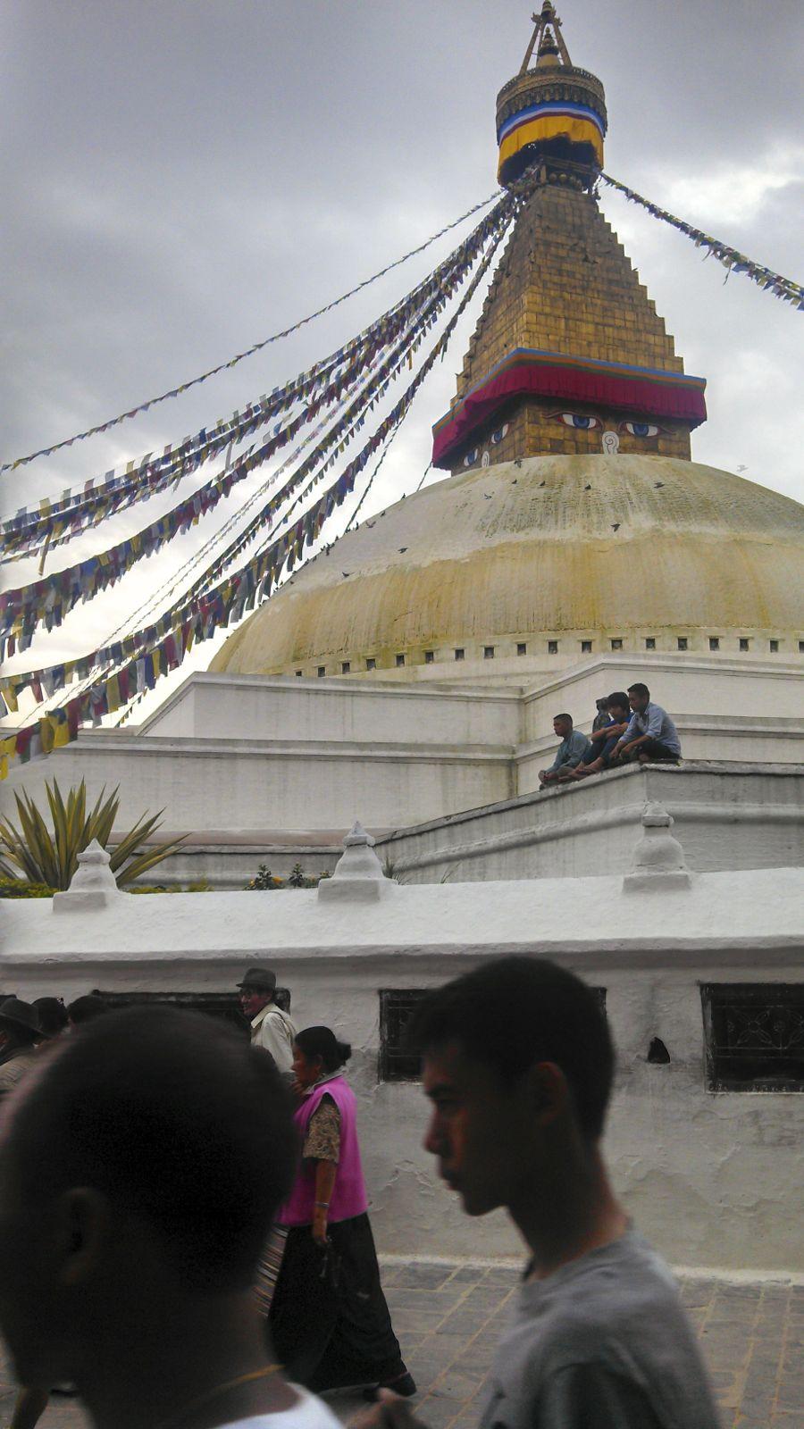Stupa in Boudha, Nepal