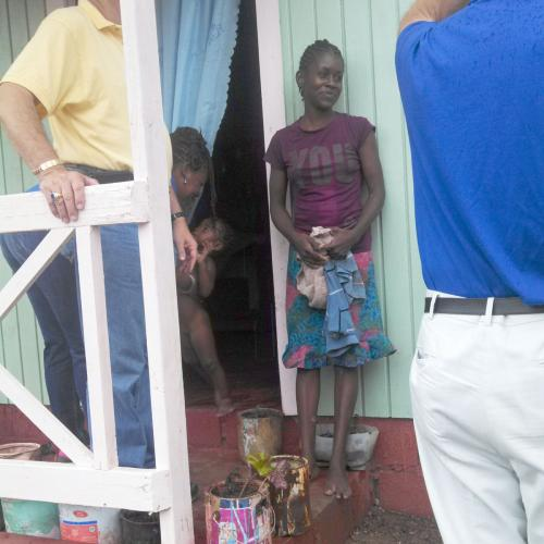 Woman in Canaan Heights, Jamaica