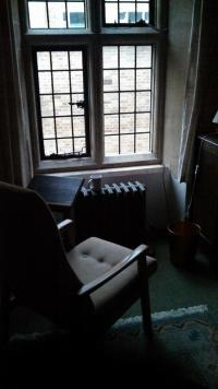 My room at Blackfriars Hall, Oxford